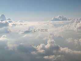 云層,云朵,云海