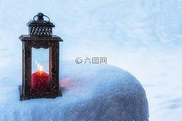 灯笼,蜡烛,光
