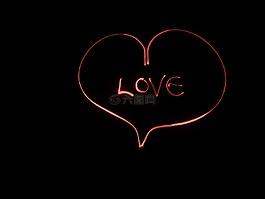 心,愛情,紅色