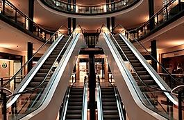 自动扶梯,楼梯,金属部分