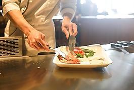 餐廳,烹飪,廚師