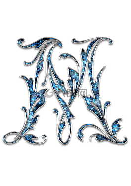 字母,字母m,m