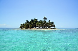島,風景,海