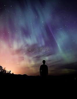 極光,borealis,自然