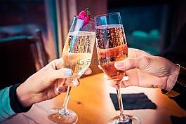 慶祝,香檳,慶典