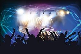 现场音乐会,舞蹈俱乐部,迪斯科