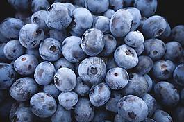 蓝莓,水果,食品