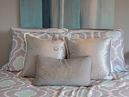 枕頭,床,棉被