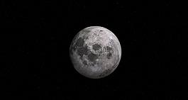 月亮,全,滿月