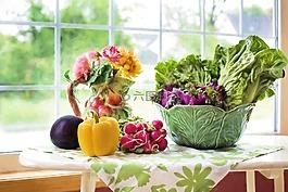 蔬菜,新鮮,食品