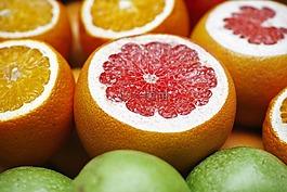 橙色,苹果,水果