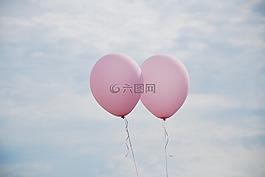 氣球,天空,愛情