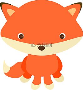 可爱的,可爱的狐狸,动物