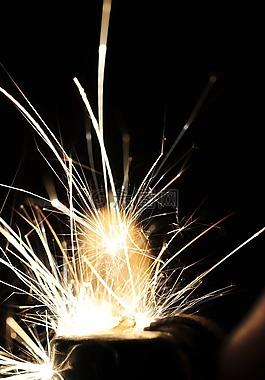 火花,烟花,焊接