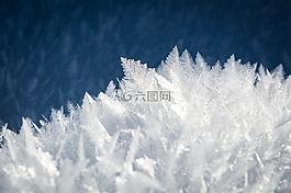 冰,eiskristalle,雪