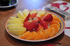水果,水果點心,食品