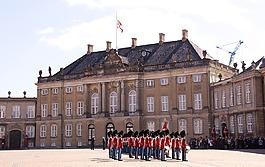 阿美琳堡,城堡,宮