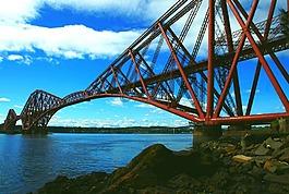 福斯鐵路橋,鋼,橋
