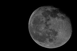 月亮,潔白的月亮,滿月