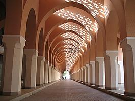 清真寺,商場,走廊