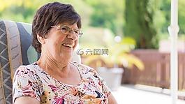 奶奶,快乐,家庭