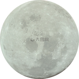月亮,大,望月