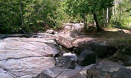 溪,石,水