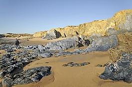 葡萄牙,大西洋海岸,海岸