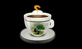 杯咖啡,咖啡因,早餐