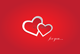 爱你,红色,情人节
