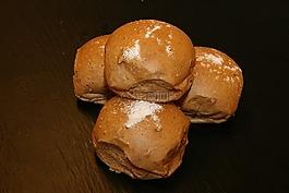 早餐面包,馒头,烤