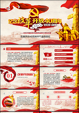 中國改革開放PPT