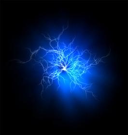 游戲藍色光效素材