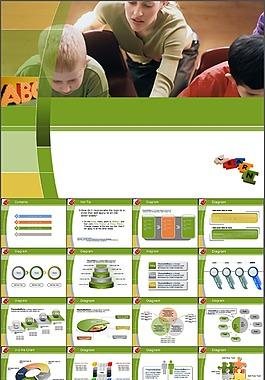 幼兒教育PPT模板