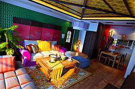 西班牙風格客廳