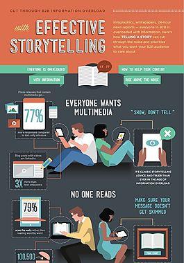 扁平多彩-通過信息過載與有效講故事