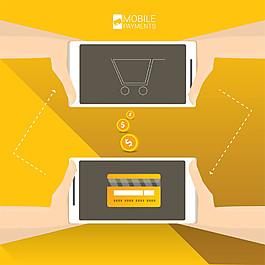 手機支付購物圖片