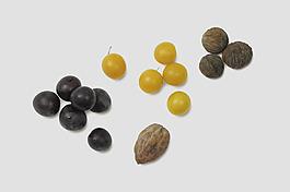 四種散狀小果子