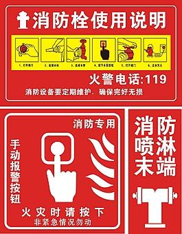 消防栓使用方法海報