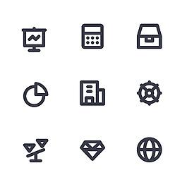 商业icon图标素材