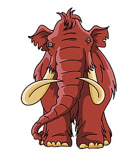 森林之王大象EPS