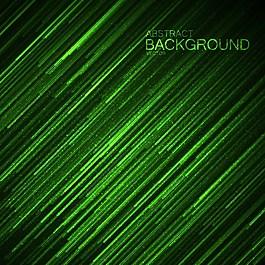 绿色线条科技背景