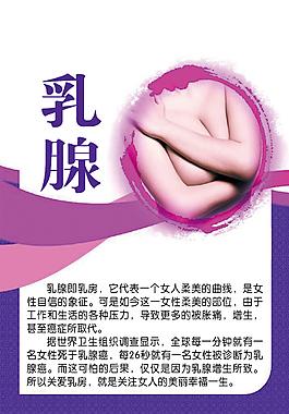 乳腺美容海報