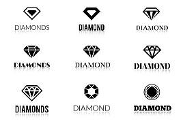 珠寶鉆石圖標設計