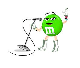綠色糖果人唱歌EPS