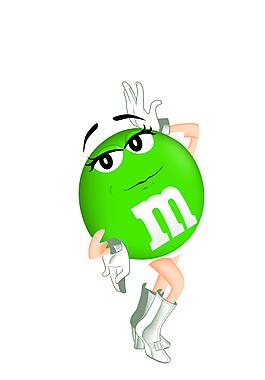 綠色糖果人跳舞EPS