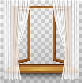 窗簾背景素材
