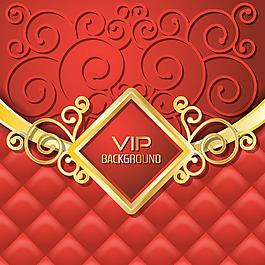 抽象幾何裝飾紋理紅色vip背景設計