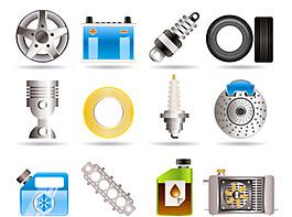 汽車服務icons3