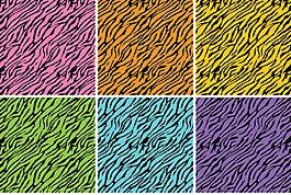 矢量老虎紋理背景素材